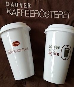 Coffee ToGo again-Becher